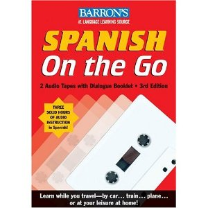 Spanish on the go 2 Audio tapes